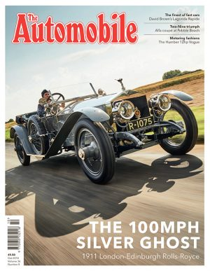The Automobile – Oct 2018 – Front Cover – small
